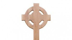 Oak Celtic Cross