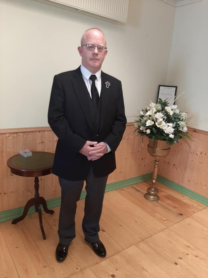 Declan Stephens   Proprietor Hassan Funeral Services